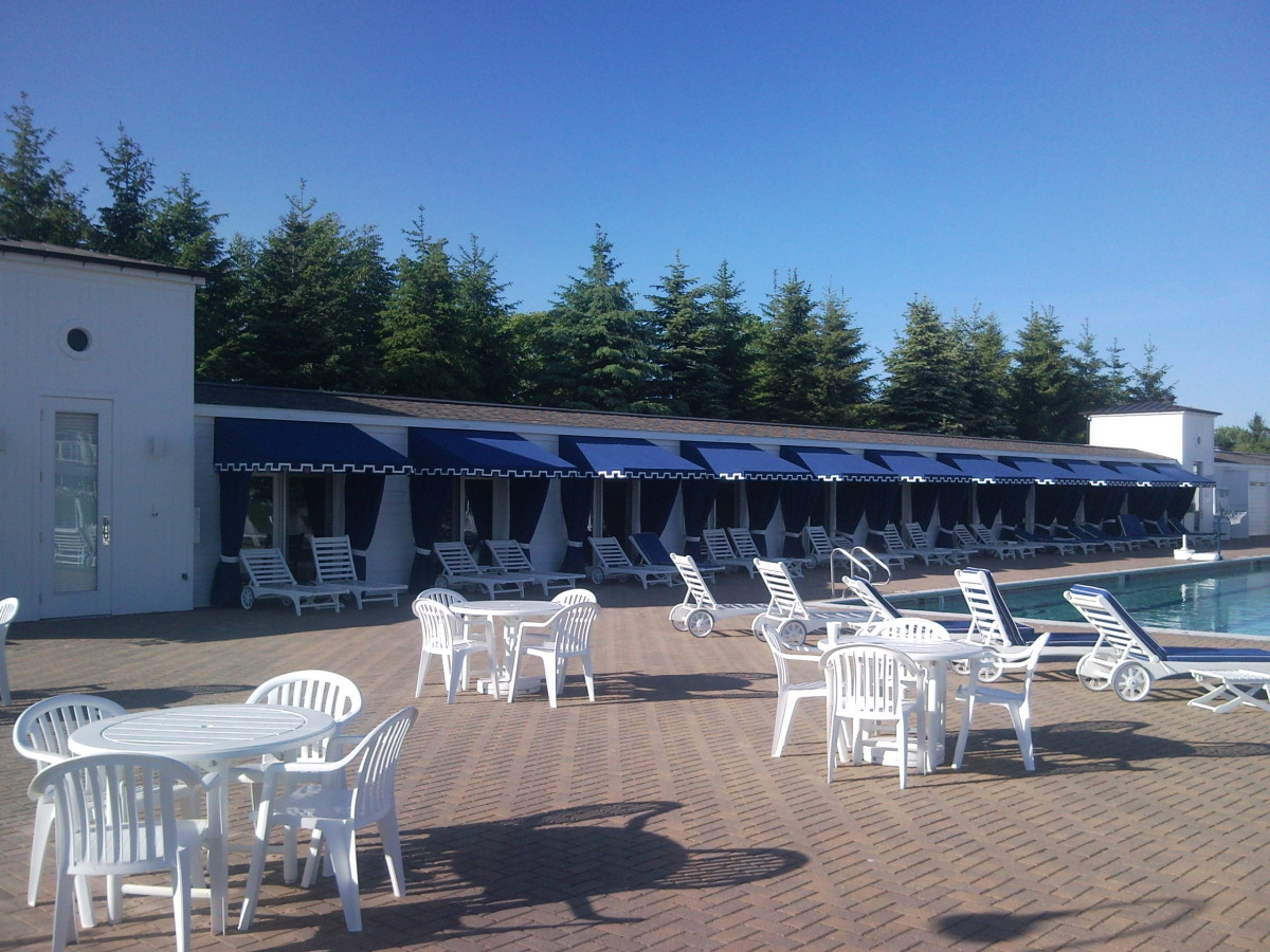 Pool Cabana Awnings